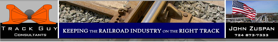 Track Guy Consultants -- Best Source for Railroad Track